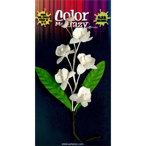 Petaloo - Color Me Crazy Collection - Orchid Spray - Dendrobium