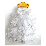 Petaloo - Tissue Paper Garland - White - 6 Feet