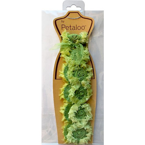 Petaloo - Fabric Trims - Green - Savannah