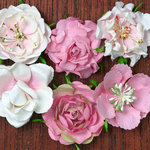 Petaloo - Canterbury Collection - Roses - Pink