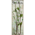 Petaloo - Canterbury Collection - Willow Vine - Green