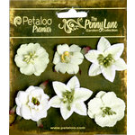 Petaloo - Penny Lane Collection - Floral Embellishments - Small Flower - Mint