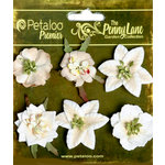 Petaloo - Penny Lane Collection - Floral Embellishments - Small Flower - Vanilla
