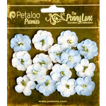 Petaloo - Penny Lane Collection - Floral Embellishments - Forget Me Nots - Slate Blue