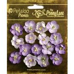 Petaloo - Penny Lane Collection - Floral Embellishments - Forget Me Nots - Soft Lavender