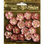 Petaloo - Penny Lane Collection - Floral Embellishments - Forget Me Nots - Antique Rose