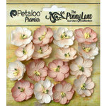 Petaloo - Penny Lane Collection - Floral Embellishments - Forget me Nots - Antique Mauve