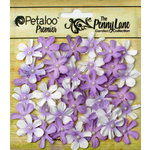 Petaloo - Penny Lane Collection - Floral Embellishments - Mini Daisy Petites - Soft Lavender