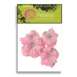 Petaloo - Pink Poodle Collection - Flowers - Peony Peel and Stick - 3 Flowers - Pink