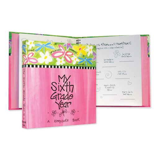 Penny Laine Papers - Book Mates Collection - Keepsake Book - My Sixth Grade Year