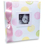 Penny Laine Papers - Keepsake Baby Books Collection - Large Dots - Adoption - Girl
