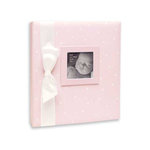 Penny Laine Papers - Keepsake Baby Books Collection - Pink with White Dots