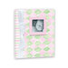 Penny Laine Papers - Keepsake Baby Books Collection - Harlequin Pattern - Girl