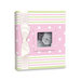 Penny Laine Papers - Keepsake Baby Books Collection - Pink and Green Stripe