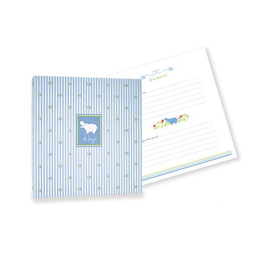 Penny Laine Papers - Keepsake Baby Books Collection - Hippo - Boy