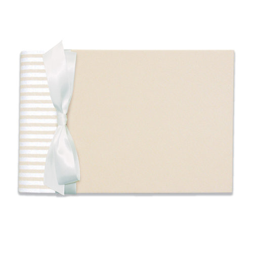 Penny Laine Papers - Guestbook - Ivory