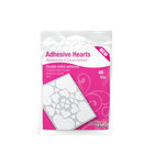 3L Scrapbook Adhesives - Adhesive Hearts - Clear