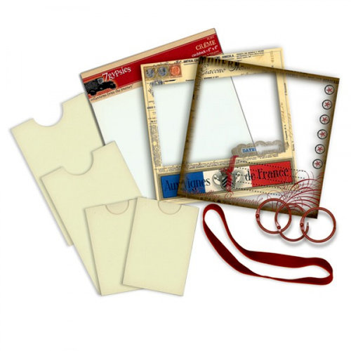 7 Gypsies - Book Starter Kit - 6 x 6