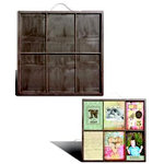 7 Gypsies - 4 x 6 Photo Tray - Black