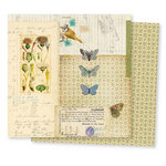 7 Gypsies - Conservatory Collection - 12 x 12 Double Sided Paper - Butterfly