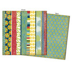 7 Gypsies - Mykonos Collection - 12 x 12 Double Sided Paper - Apollo
