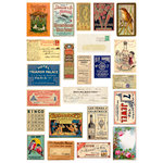 7 Gypsies - Rub Ons - Color - Mini Ephemera