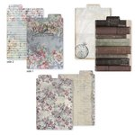 7 Gypsies - Gypsy Moments Collection - 4 x 6 Printed File Folders