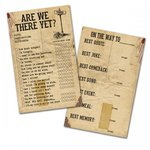 7 Gypsies - Gypsy Moments Collection - 3 x 5 Cards - Are We There Yet