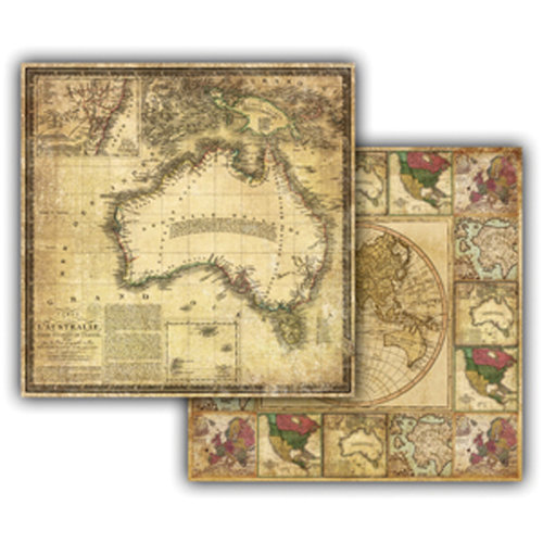 7 Gypsies - Global Collection - 12 x 12 Double Sided Paper - Australie