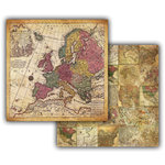 7 Gypsies - Global Collection - 12 x 12 Double Sided Paper - Europa