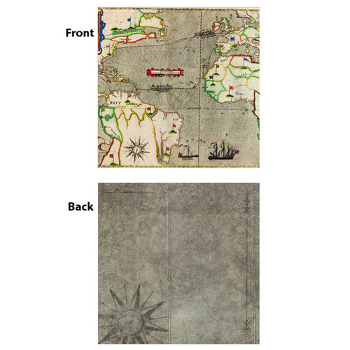 7 Gypsies - Gypsy Travels Collection - 12 x 12 Double Sided Paper - Isla