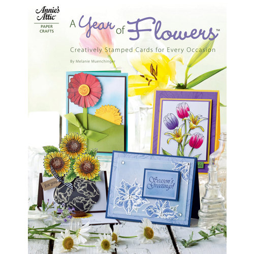 Annie's Attic - Idea Book - A Year of Flowers