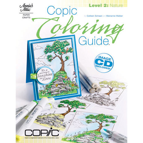 Annie's Attic - Idea Book - Copic Coloring Guide - Level 2 Nature