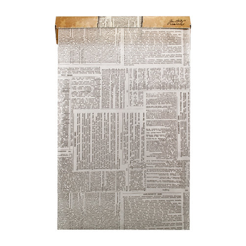 Tim Holtz - District Market Collection - Idea-ology - Tissue Wrap Paper - Terminology