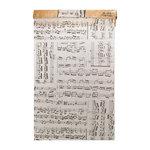 Tim Holtz - District Market Collection - Idea-ology - Tissue Wrap Paper - Composer