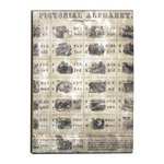 Tim Holtz - District Market Collection - Idea-ology - Matchbook Notepad - Flashcards