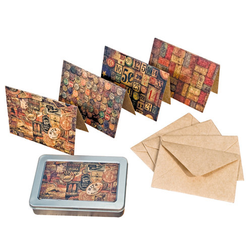 Tim Holtz - District Market Collection - Idea-ology - Notecard Set - Collectibles