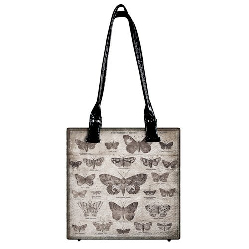 Tim Holtz - District Market Collection - Idea-ology - Tote - Butterflies