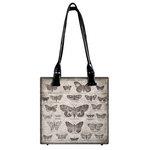Tim Holtz - District Market Collection - Idea-ology - Tote - Butterflies