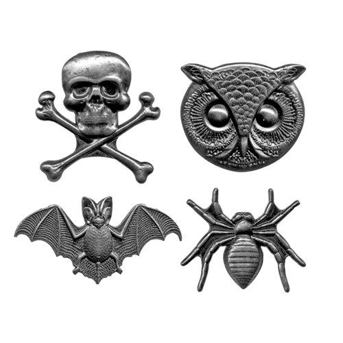 Tim Holtz - Idea-ology Collection - Halloween - Adornments