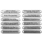 Tim Holtz - Idea-ology Collection - Word Bands