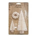Tim Holtz - Idea-ology Collection - Christmas - Woodlands - Ornaments