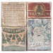 Tim Holtz - District Market Collection - Idea-ology - Burlap Canvas Panels - Christmas