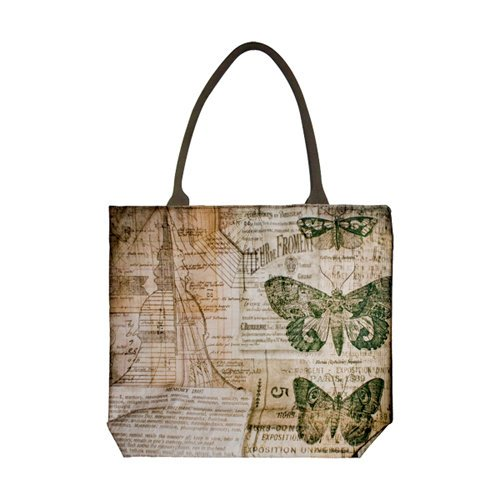 Tim Holtz - District Market Collection - Idea-ology - Tote - Crowded Attic