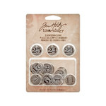 Advantus - Tim Holtz - Idea-ology Collection - Christmas - Countdown Coins