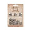 Advantus - Tim Holtz - Idea-ology Collection - Christmas - Countdown Coins