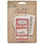 Advantus - Tim Holtz - Idea-ology Collection - Holiday Flashcards - Mini