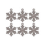 Advantus - Tim Holtz - Idea-ology Collection - Christmas - Snowflake Adornments