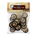 Bottle Cap Inc - Vintage Edition Collection - Altered Art - Bingo Chips - Black
