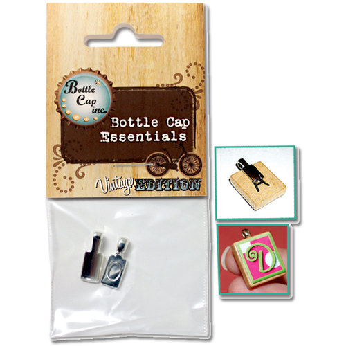 Bottle Cap Inc - Vintage Edition Collection - Jewelry Findings - Silver Bails